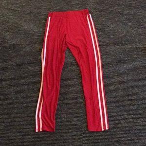 Red Fashion Nova leggings